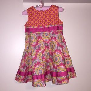7a3961712e726f Lilly Wicket. Summertime Twirly Cotton Dress